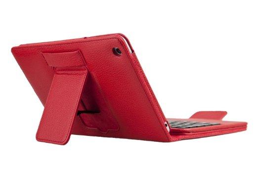 QQ-Tech® Bluetooth Keyboard PU Leather Case