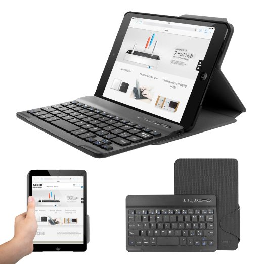 Anker® Ultra-Slim Folio Bluetooth Keyboard Case