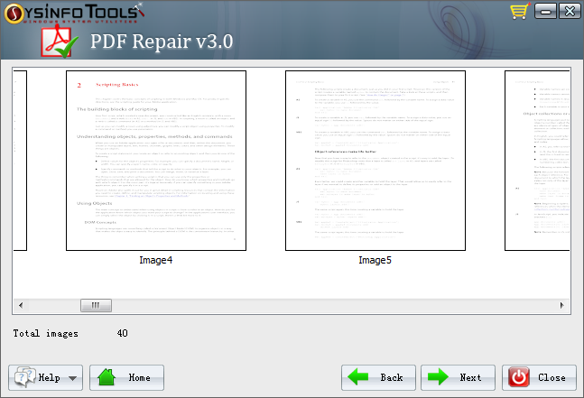 extract pdf data