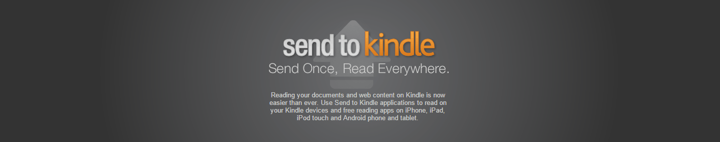 How to Upload EPUBs to Kindle Reader and Kindle App ...