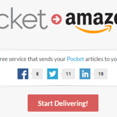 How to Send Pocket Articles to Kindle