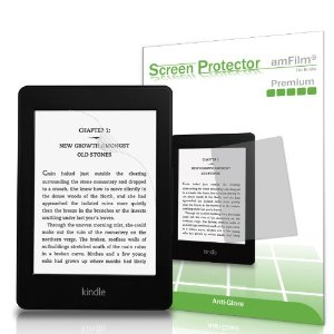 amFilm® Kindle Anti-Glare/Anti-Fingerprint (Matte) Premium Screen Protector