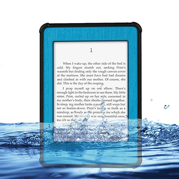 Kindle Paperwhite Case Cover Waterproof Dirtproof Snowproof Shockproof Box Hard Tablet Shell for Amazon Kindle Paperwhite (blue)