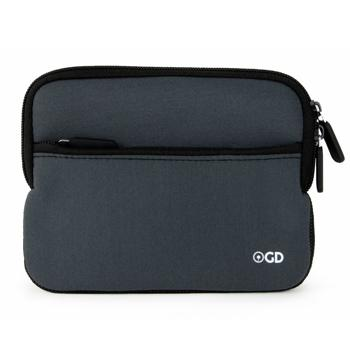 Gizmo Dorks Neoprene Zipper Sleeve Case Cover (Gray) for Amazon Kindle Touch / Paperwhite / Voyage / Oasis