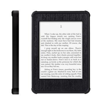 Merit Amazon Kindle Paperwhite eReader Waterproof Case 6.6ft Underwater Waterproof Shockproof Anti-Frost Anti-Dust Hard Armor Tablet Shell for Amazon Kindle Paperwhite eReader 6 in(Black)