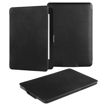 Kindle Paperwhite Case, Vakoo Ultra Thin Slim Fit PU Leather Smart Case Protective Cover with Auto Wake/Sleep for Amazon All-New Kindle Paperwhite (Fits All 2012, 2013 and 2015 Versions), BLACK