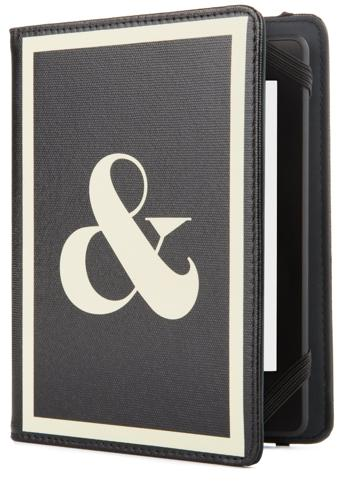 Jonathan Adler Punctuation Cover - Black/White (Fits Kindle Paperwhite, Kindle & Kindle Touch)
