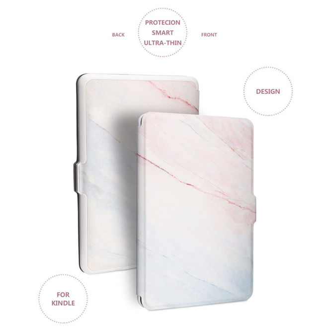 Leminimo Slim Fit Smart Marble Case for Kindle Paperwhite