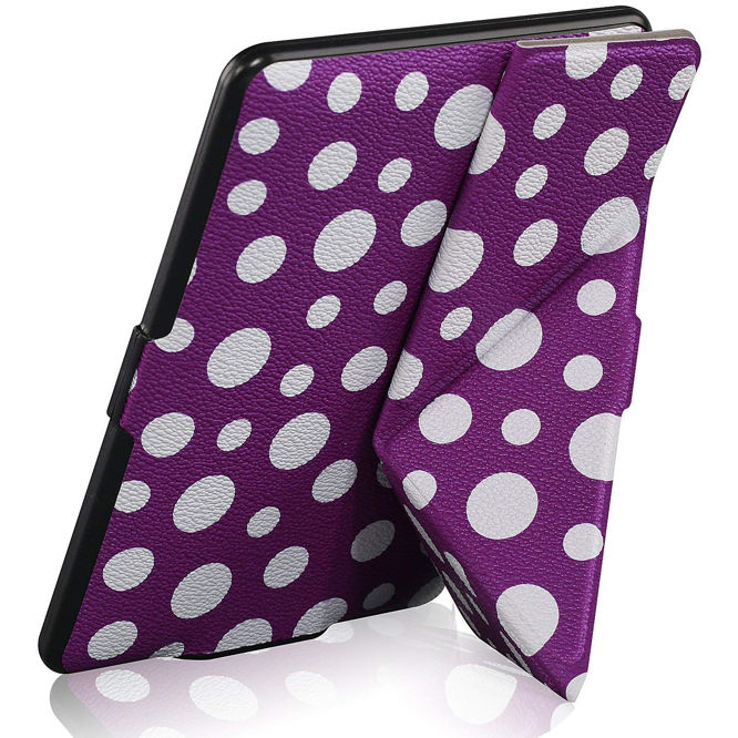 WizFun Slim Stand-able PU Leather Case