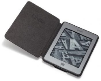 Amazon Kindle Touch Leather Cover, Black (does not fit Kindle Paperwhite)