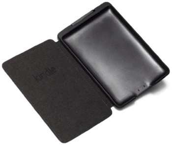 Click to open expanded view Amazon Kindle Touch Lighted Leather Cover, Black (does not fit Kindle Paperwhite)