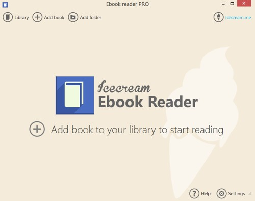 Icecream ebook reader a desktop reading app you wont want to miss icecream ebook reader fandeluxe Images