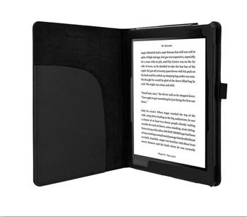 Kobo Aura One Case - AVIDET Slim-Book Style PU Leather Case Cover for Kobo Aura One (Black)
