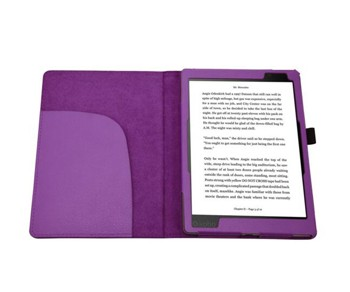 Kobo Aura One Case, TopAce PU Leather Case Flip Cover For Kobo Aura One (Purple)