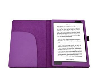 Kobo Aura One Case, TopAce PU Leather Case Flip Cover For Kobo Aura One (Purple)