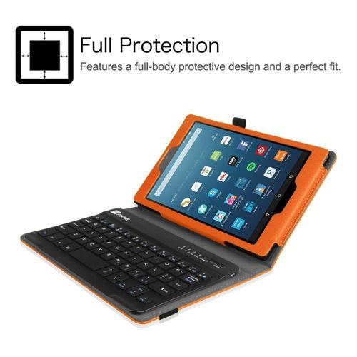 Fintie Keyboard Case for Amazon Fire HD 8 2016 release