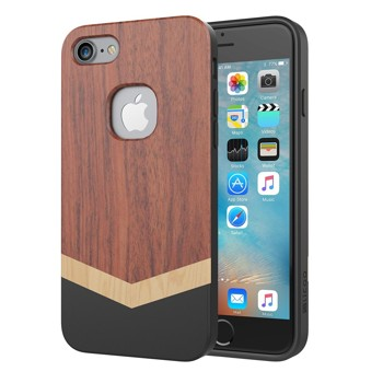 iPhone 7 Case, Slicoo Slim Wood Protective Cover Case for iPhone 7 (2016), [Nature Series]