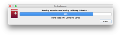 load ibooks into calibre