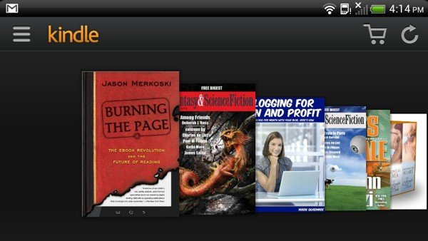 How to Display Book Cover in Kindle Fire HDX Carousel