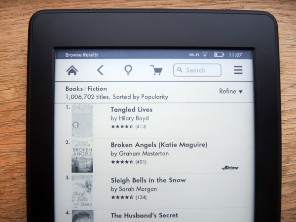Change Default Kindle Store Language