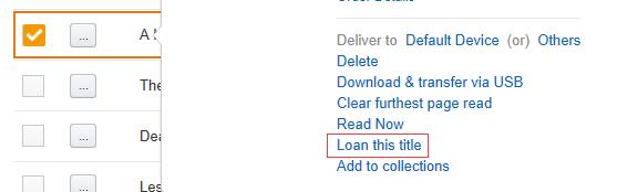 loan kindle books