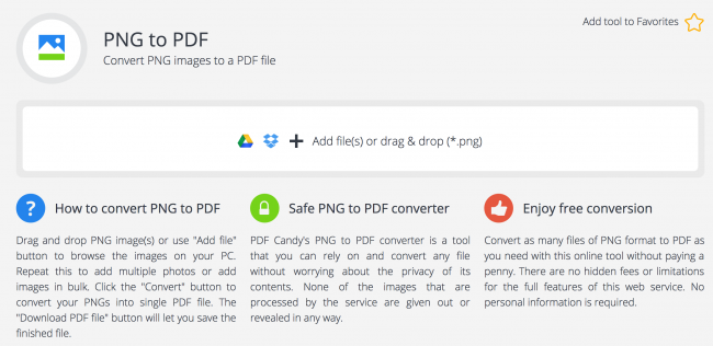 how to use pdf candy