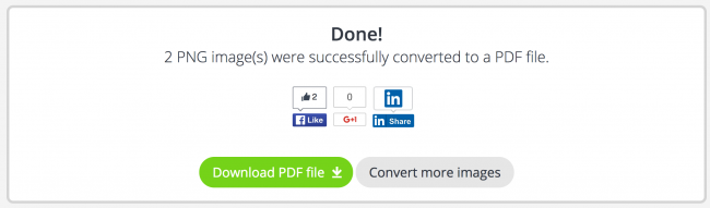 download converted pdf file from pdf candy