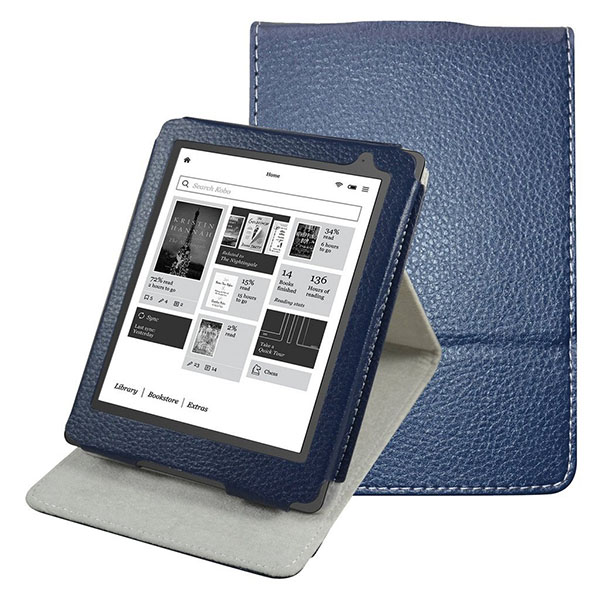 "Kobo Aura Edition 2 E-reader 2016 Case,Mama Mouth Vertical Viewing Stand PU Leather Cover for 6"" Kobo Aura Edition 2 E-reader 2016 Release"