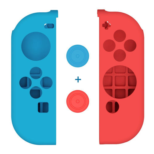 Nintendo Switch Joy-Con Gel Guards with Thumb Grips