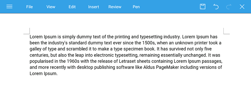 paste copied content in wps office kindle fire