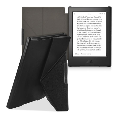 kwmobile FLIP COVER FOR KOBO AURA H2O CASE STAND BUMPER HART SHELL BAG POCKET