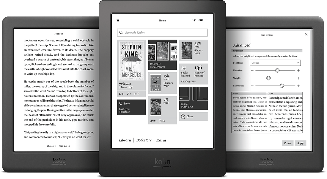 downgrade kobo firmware version