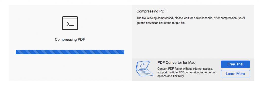 Start compression