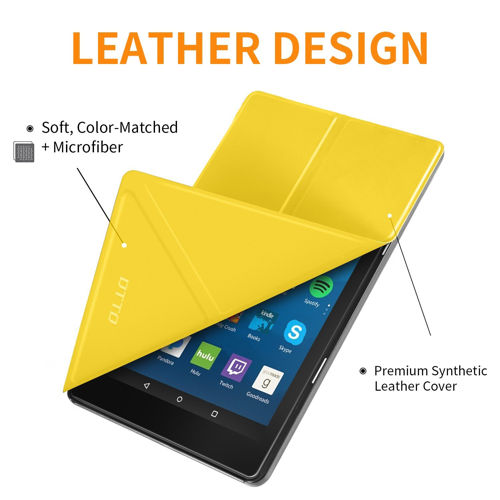 DTTO Multi-Angle Stand Case for Amazon Fire HD 8 (7th Generation)