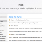 Klib – Manage Your Kindle Notes and Highlights on Mac