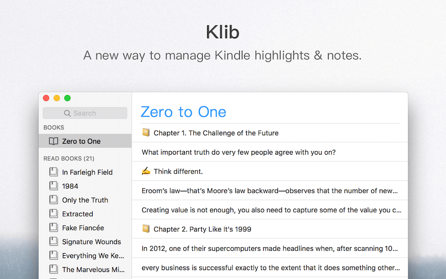 Manage Your Kindle Notes and Highlights on Mac