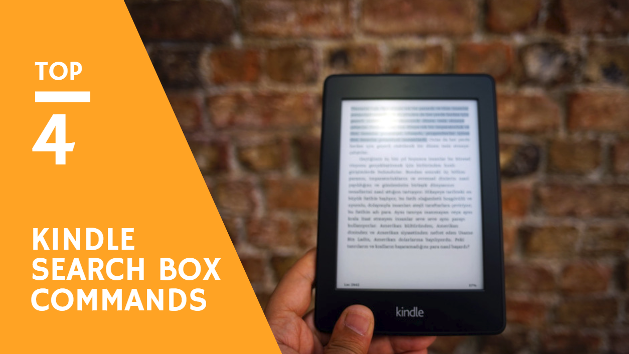4 Kindle Search Box Commands Only Pro Users Know