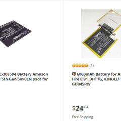 How to Replace Battery for Kindle eReader and Fire Tablet