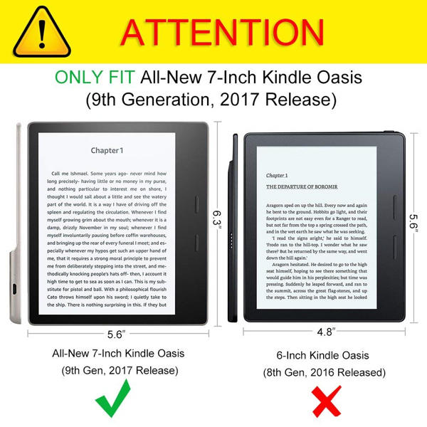 The Top 10 Cases for Amazon Kindle Oasis the 2017 Release