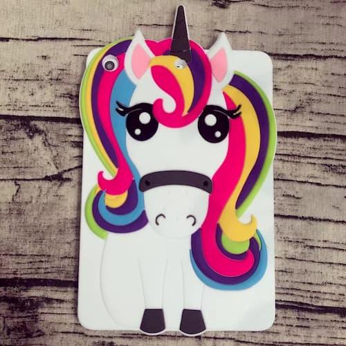 Awasccy Cute Cool 3D Unicorn iPad 9.7 inch 2017 Case