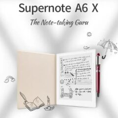 Supernote A6 X Reaches the Next Stage of Digital Note Taking